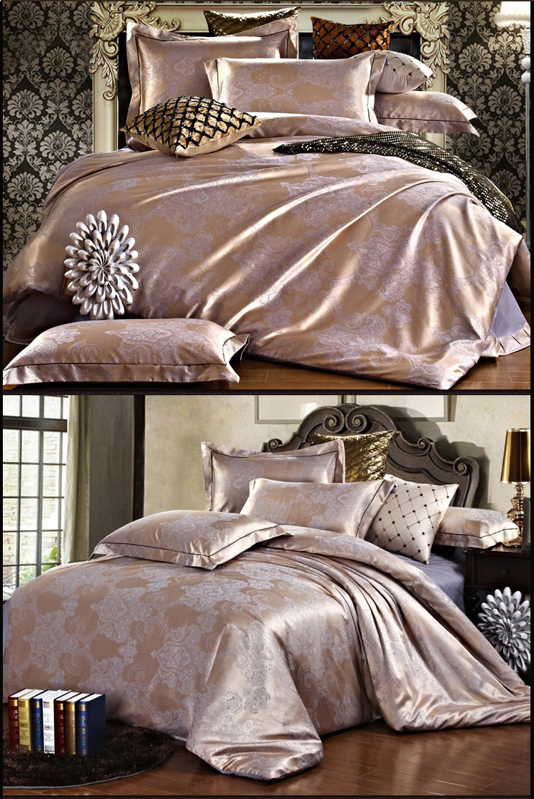 bettbezug bett berwurf tagesdecke bettw sche hochzeit 250x250cm 100 seide. Black Bedroom Furniture Sets. Home Design Ideas